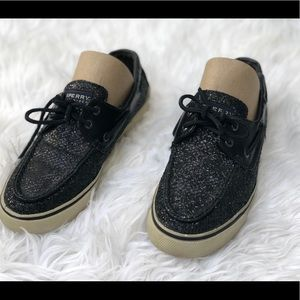 Sperry Glitter Top Siders